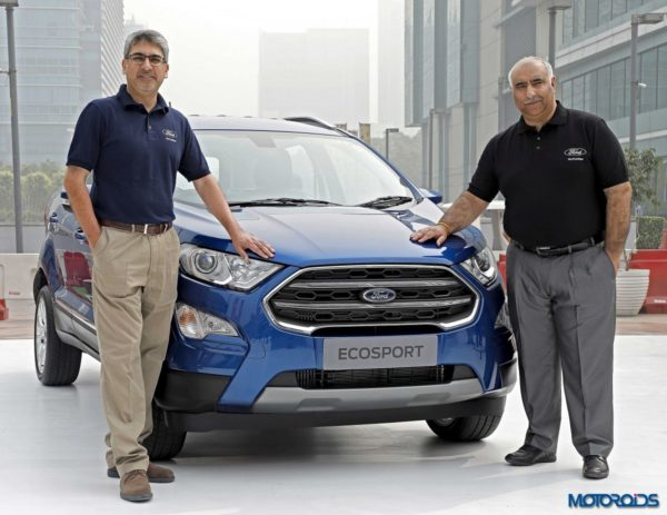 Ford Ecosport facelift launched in India (1)