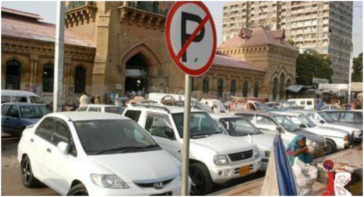 Heavy fines for no parking