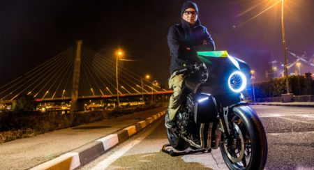 Honda CB4 Interceptor & Valerio Aiello