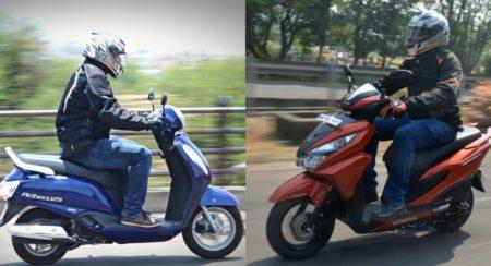 Honda Grazia vs Suzuki Access 125 - Feature Image (2)