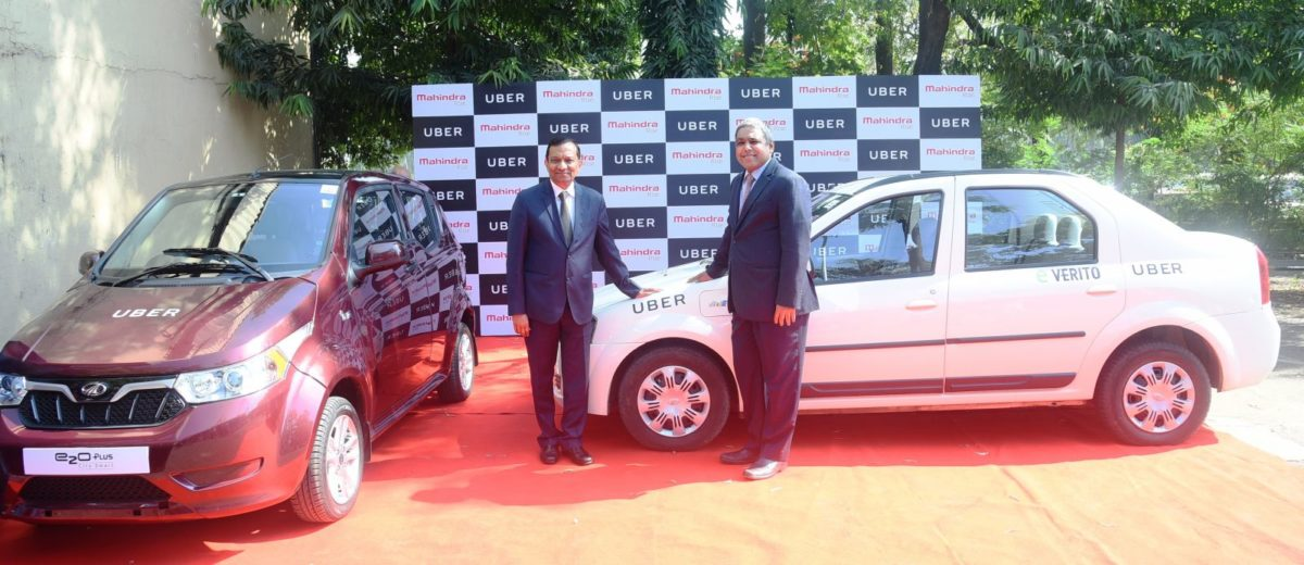 Mahindra And Uber India Join Hands to Deploy Electric Vehicles (2)