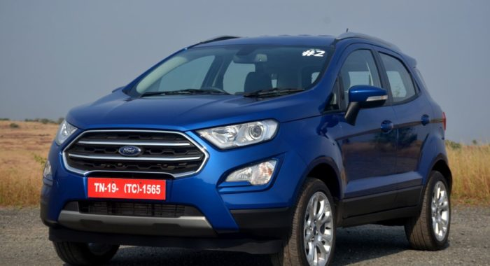 new ford ecosport signature edition spied  launch likely