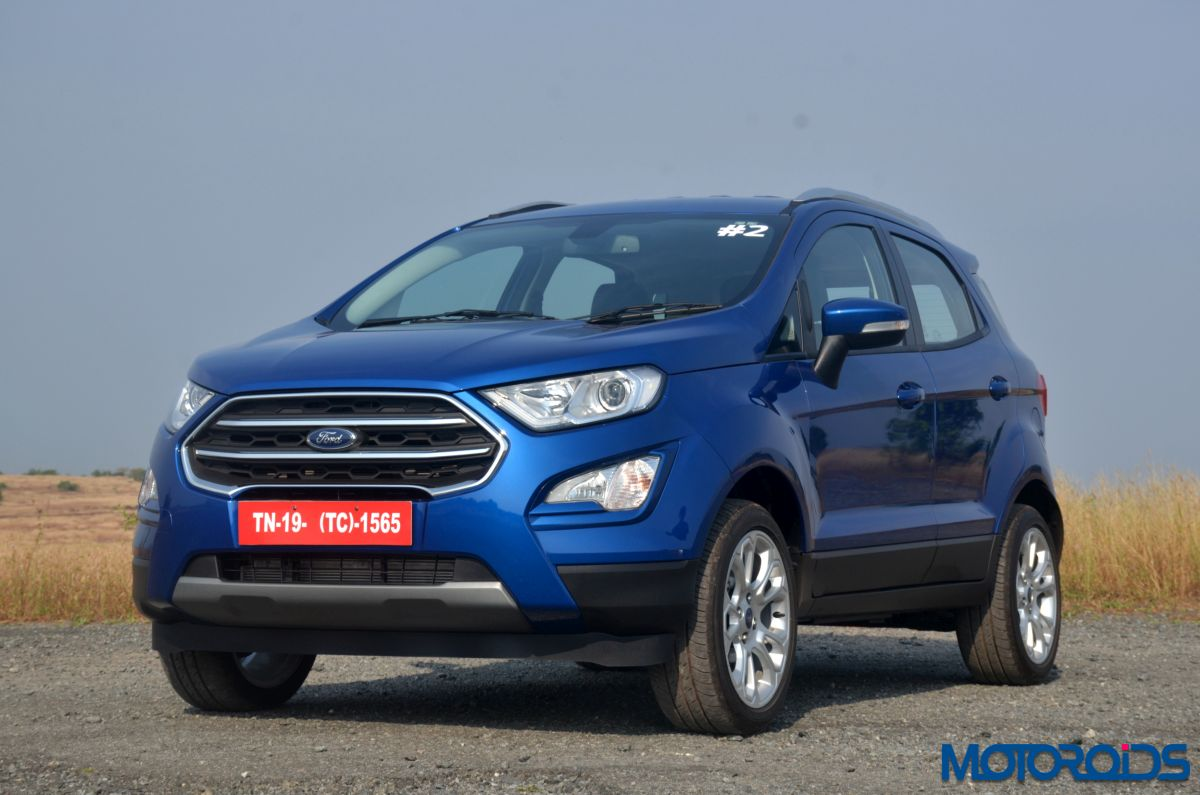 live new 2017 ford ecosport facelift india launch details images and prices motoroids. Black Bedroom Furniture Sets. Home Design Ideas