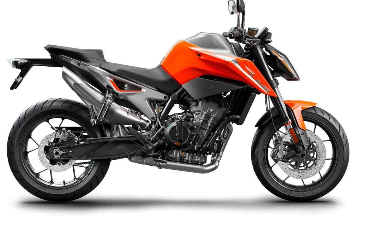 New 2018 KTM Duke 790 side