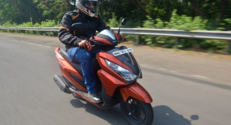 New Honda Grazia - Action Shots (6)