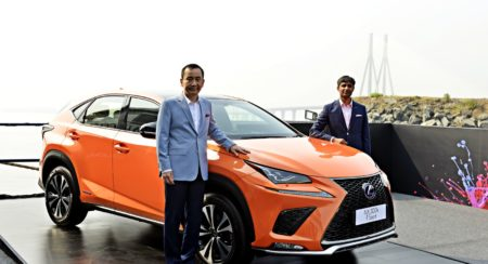 New Lexus NX300h Next Hybrid Electric Vehicle Unveiled In India (1)