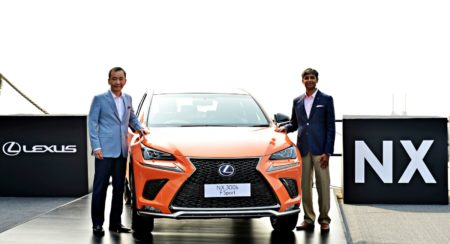 New Lexus NX300h Next Hybrid Electric Vehicle Unveiled In India (2)