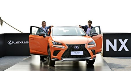 New Lexus NX300h Next Hybrid Electric Vehicle Unveiled In India (3)