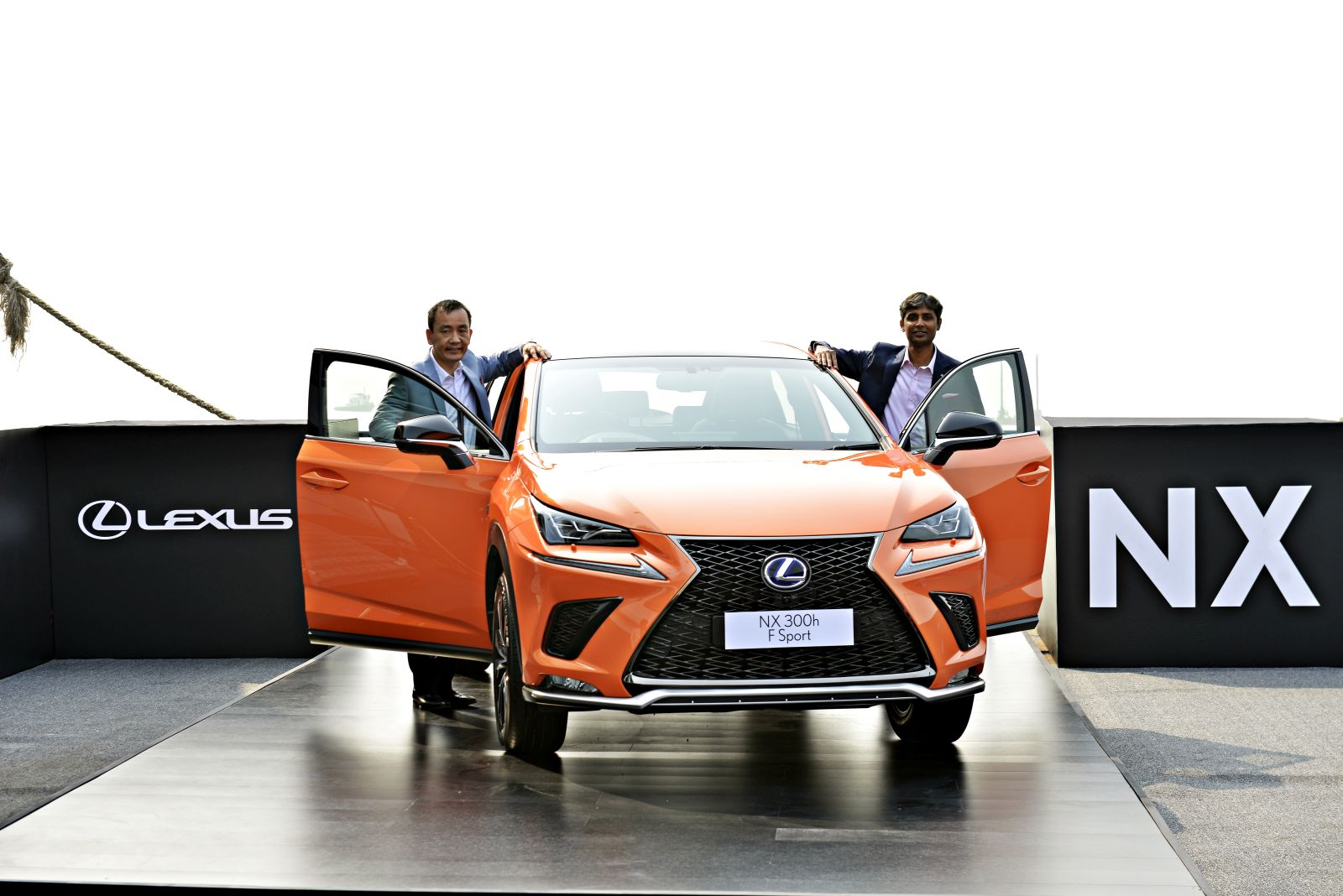 Lexus unveils latest hybrid electric vehicle NX300H in Mumbai