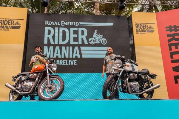 New Royal Enfield 650 Twins Showcased At 2017 Rider Mania (1)