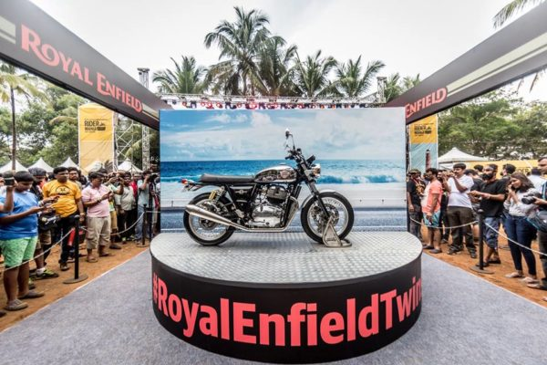 New Royal Enfield 650 Twins Showcased At 2017 Rider Mania (2)