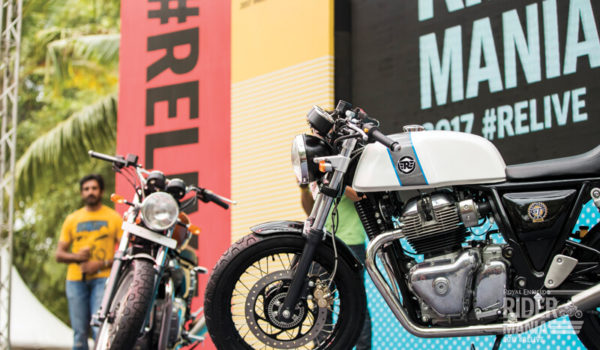 New Royal Enfield 650 Twins Showcased At 2017 Rider Mania (5)