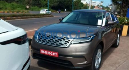 Range Rover Velar spied in India (5)