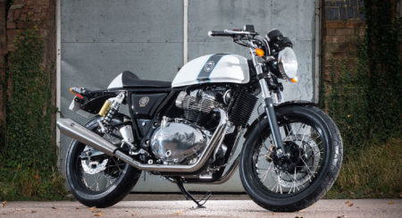 Royal Enfield Continental GT 650 White 2