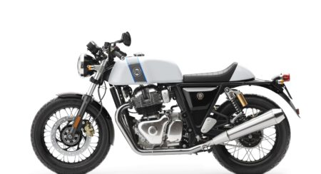 Royal Enfield Continental GT - Ice Queen LHS