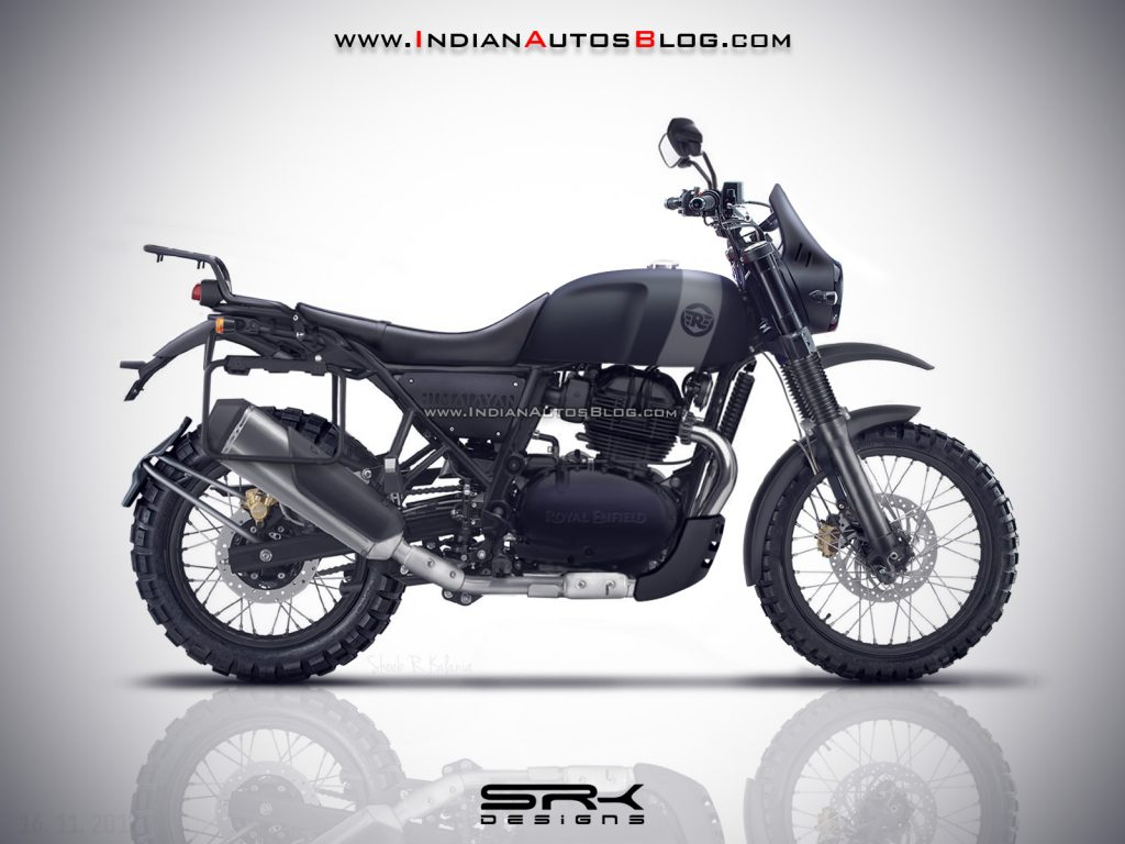 A Neat Render Imagines The Royal Enfield Himalayan 650