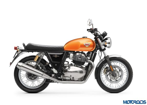 Royal Enfield Interceptor INT 650 – Orange Crush RHS