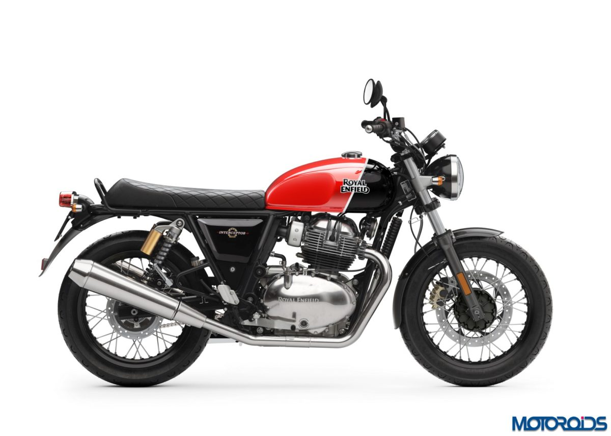 Royal Enfield Interceptor INT 650 - Ravishing Red