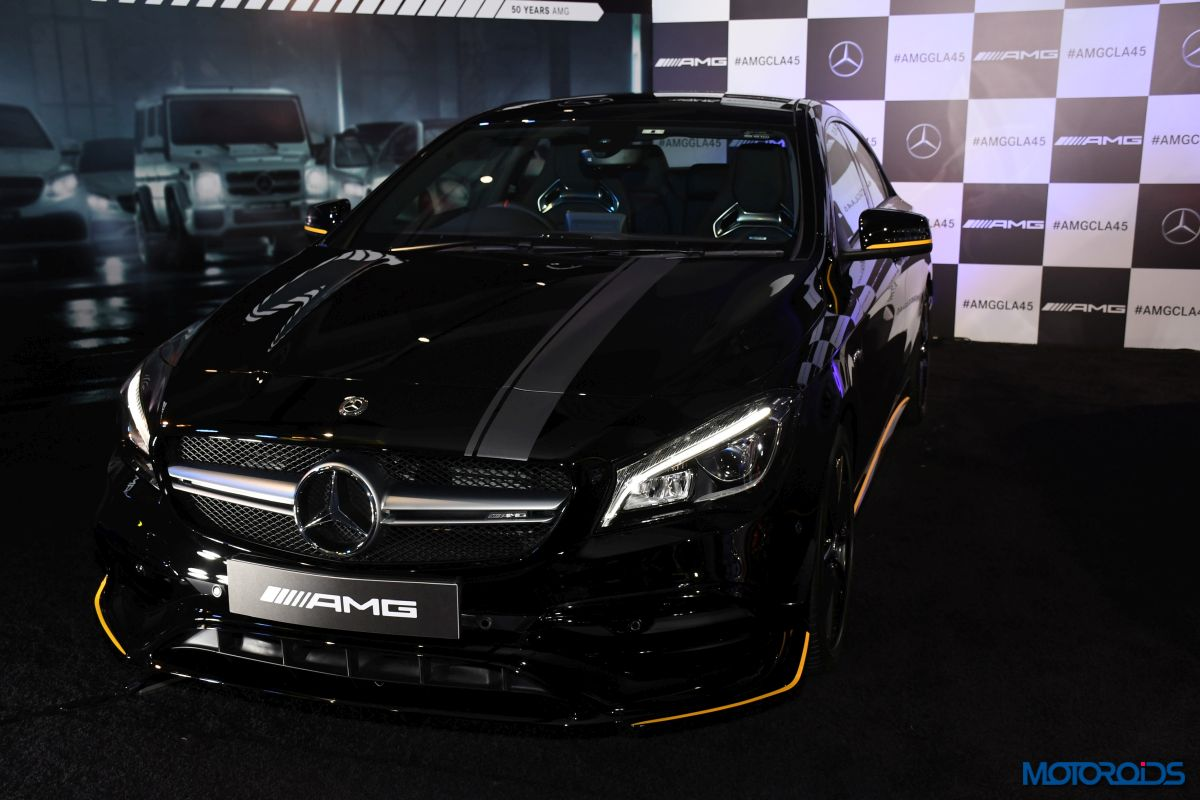 New mercedes amg cla 45 launched in india prices start at for Mercedes benz cla amg price