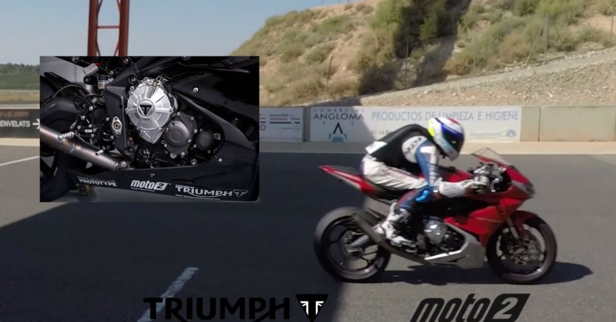Listen To The Eargasmic Sound Of The Triumph 765cc Moto2 Engine At Full Chat | Motoroids