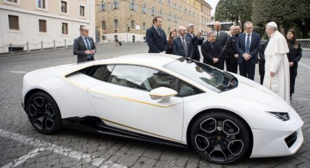 Unique Lamborghini Huracán RWD By Ad Personam Donated To Pope Francis (2)