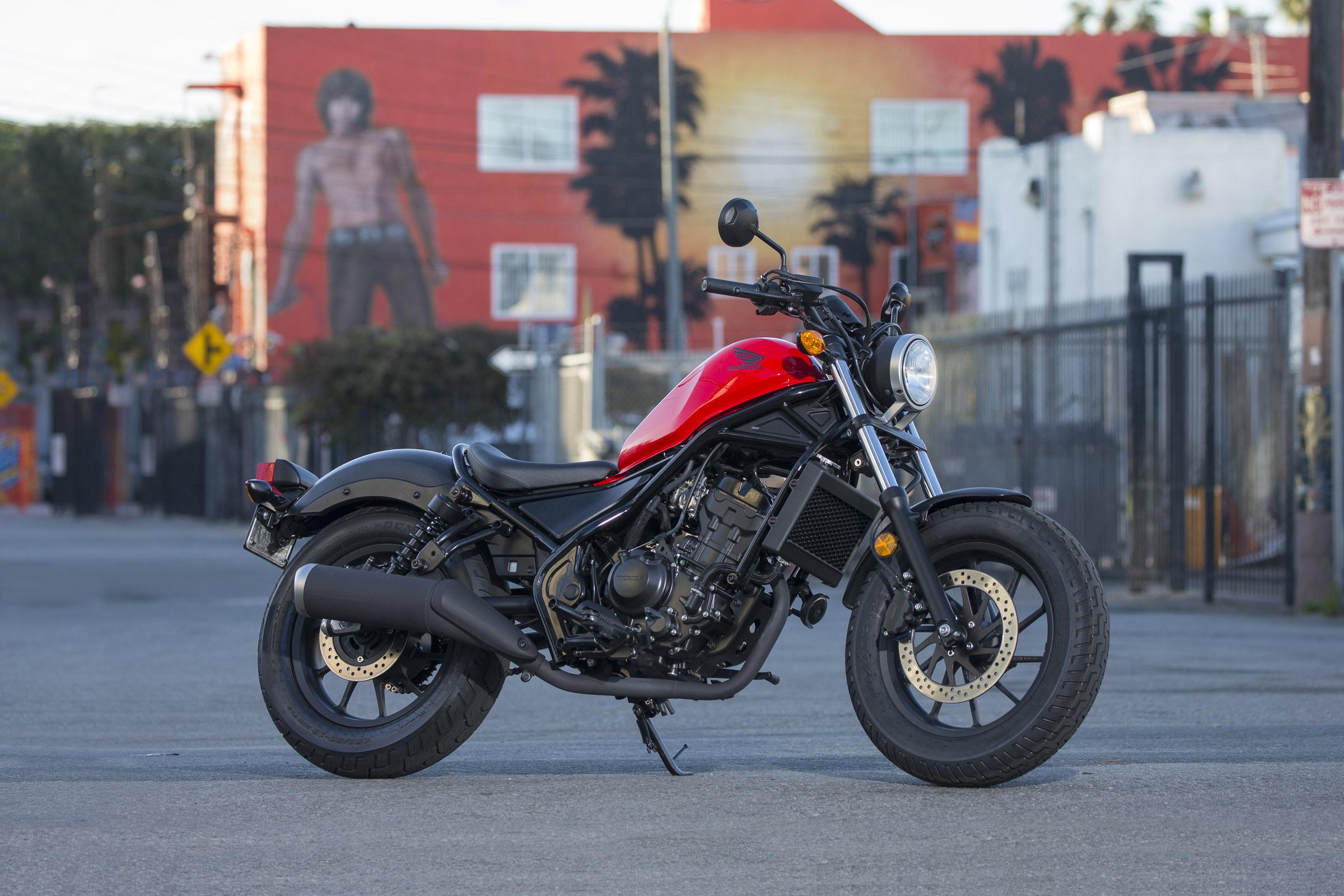 Honda-Rebel-300-Red
