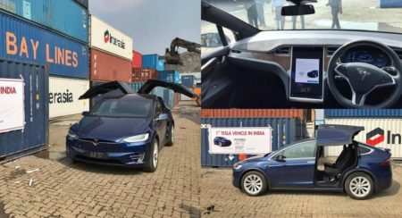 India's First Tesla Model X Lands In Mumbai - Feature Image (1)