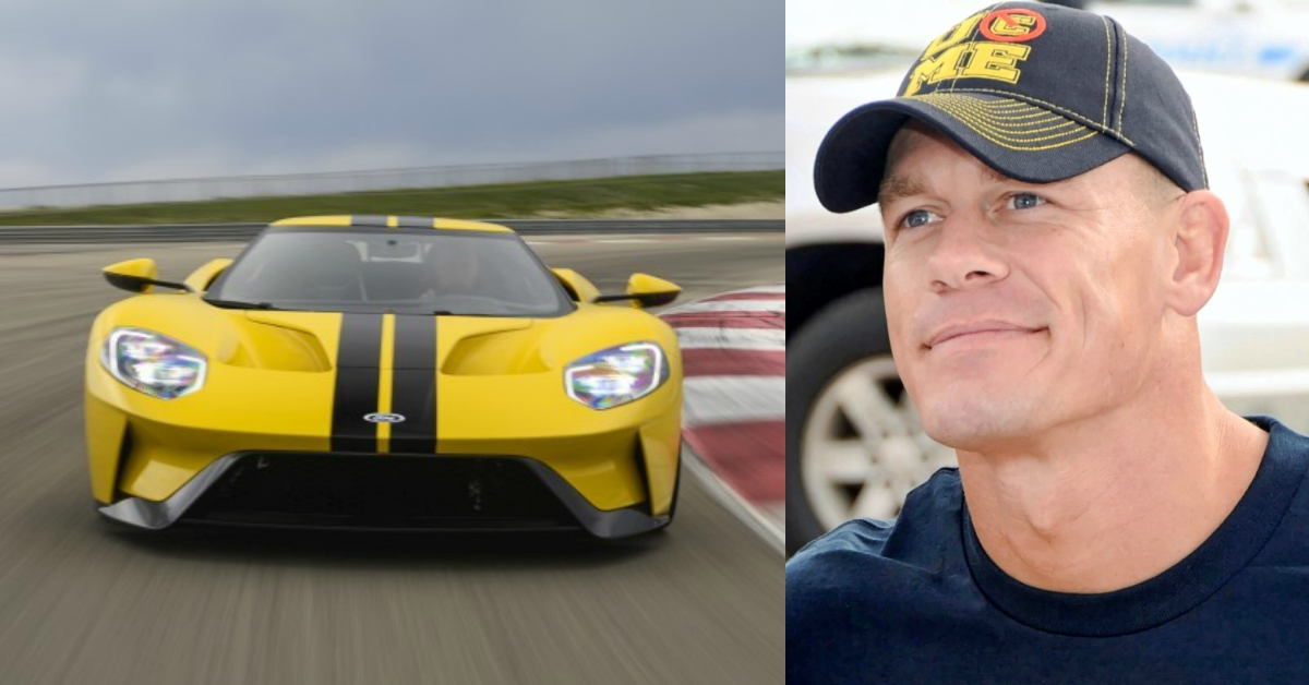 Ford Sues Wwe Wrestler John Cena For Selling His  Gt Supercar Before Contract Permitted