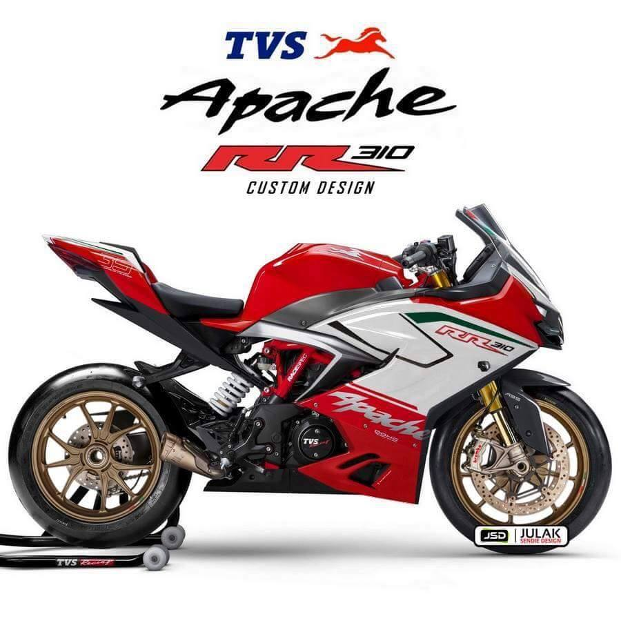 Freshly Launched TVS Apache RR 310 Visits A Digital Chop