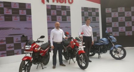 New Hero Motocorp Commuter Bikes