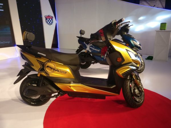 Okinawa Praise e scooter India Launch (20)