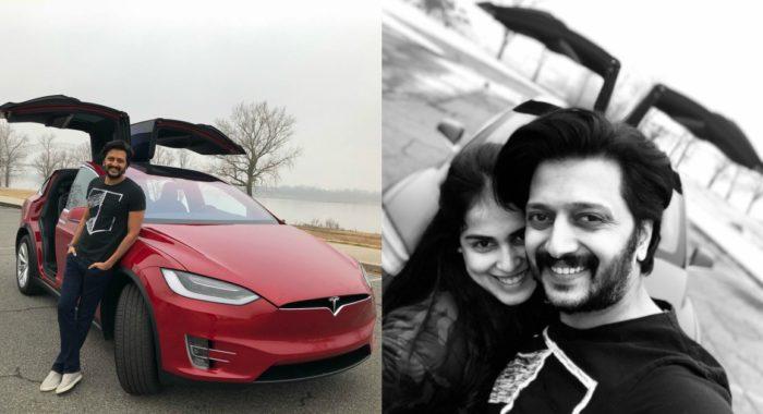 Riteish Deshmukh Gets A Tesla Model X As Birthday Gift