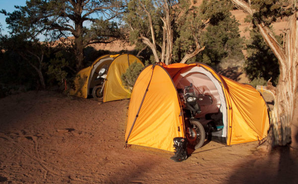 Tent-with-motorcycle-parking-600x371