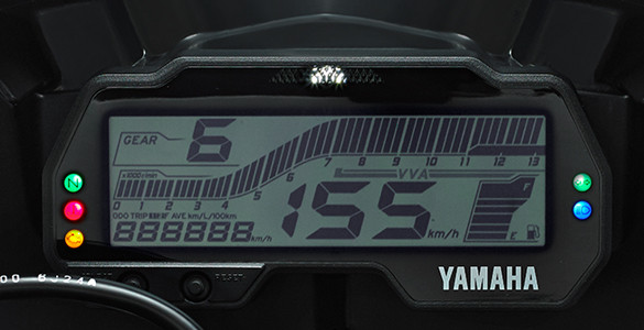 Yamaha R15 V3.0 instrument console
