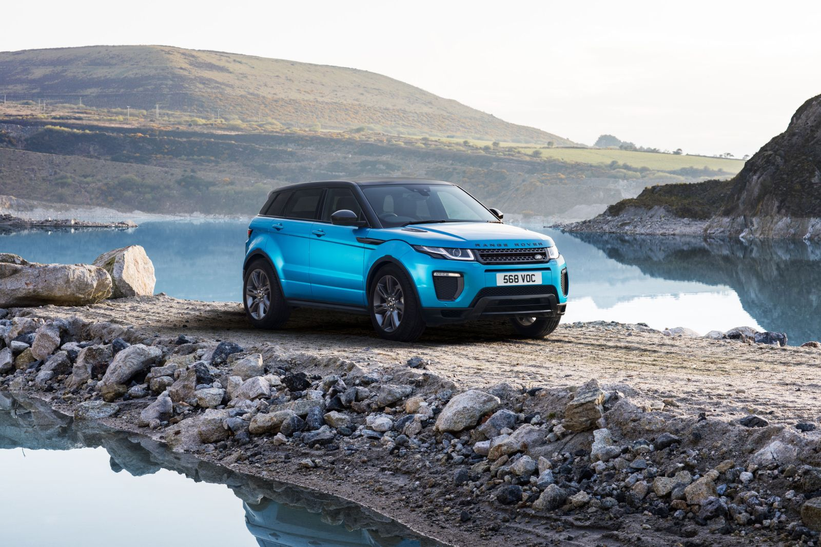 range rover evoque landmark edition launched in india motoroids. Black Bedroom Furniture Sets. Home Design Ideas