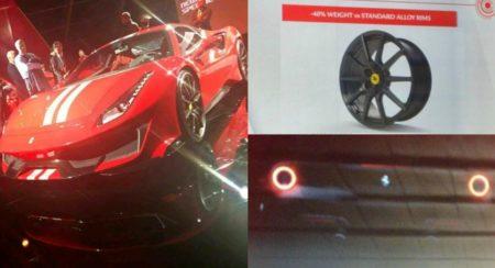 Ferrari 488 GTO collage