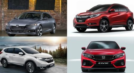 Honda Cars India at Auto Expo 2018: HR-V Crossover, CR-V Diesel, 2018 Civic, 2018 Accord, Jazz Facelift, All-New Amaze And More