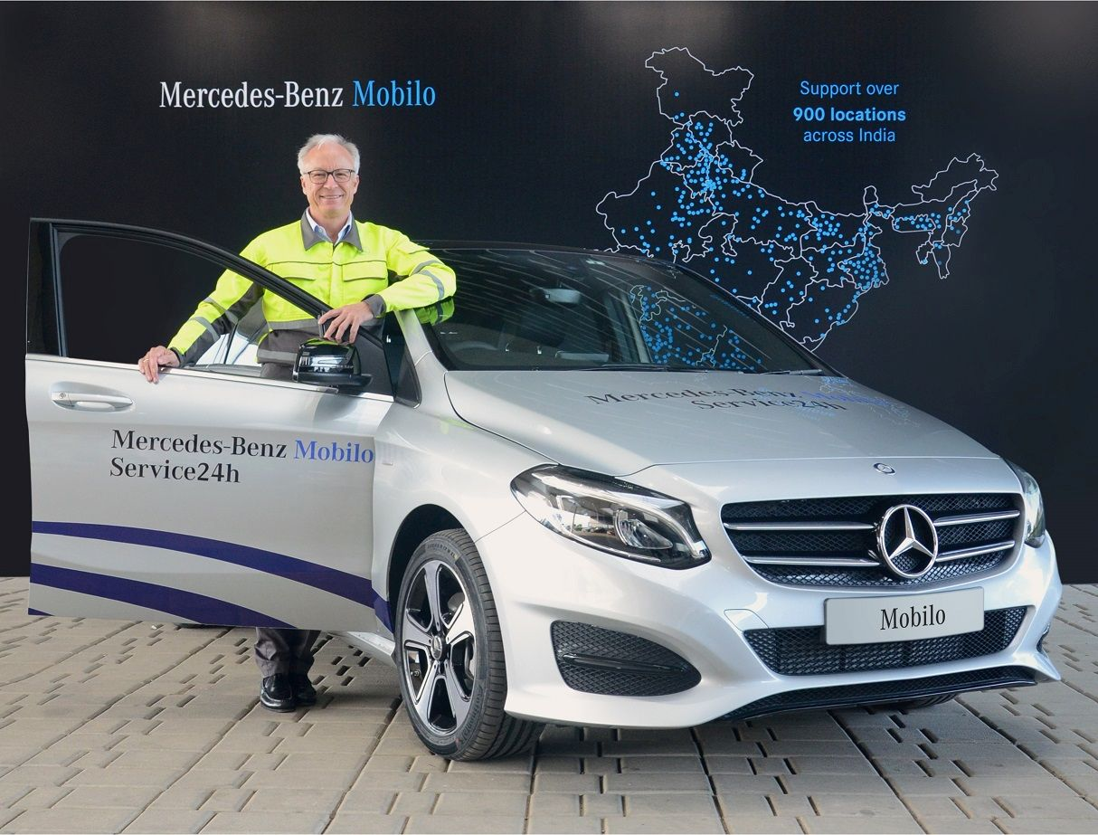 Mercedes benz india launches mobilo a 24x7 customer for Mercedes benz customer service complaints