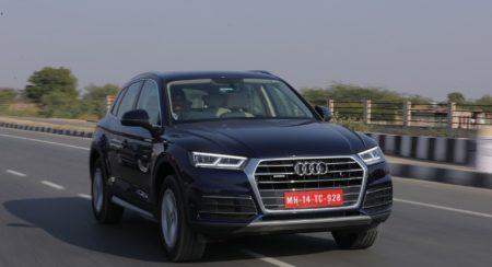 New 2018 Audi Q5 India action (2)