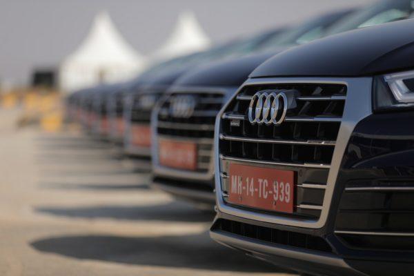 New 2018 Audi Q5 India grille