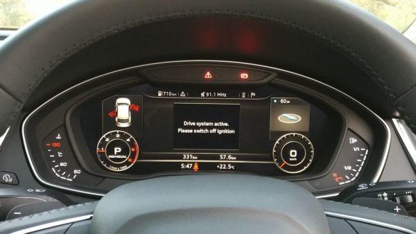 New 2018 Audi Q5 India virtual cockpit