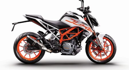 Official Release: KTM introduces White Color Variant for 390 Duke MY 2018
