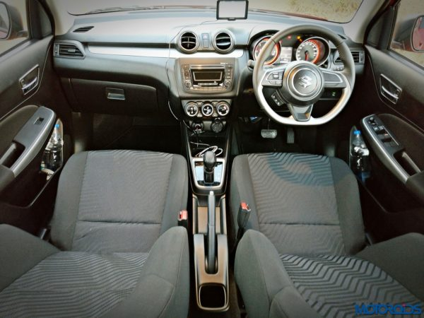 New 2018 Maruti Suzuki Swift dashboard