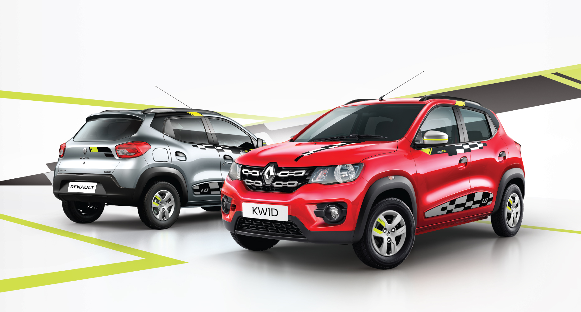 renault kwid live for more reloaded 2018 edition launched in india motoroids. Black Bedroom Furniture Sets. Home Design Ideas