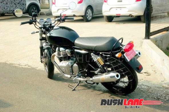 Royal Enfield Interceptor 650 Spied In India Details Images