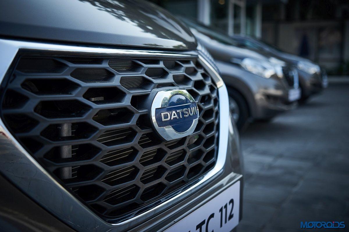 new 2018 Datsun redi GO AMT grille
