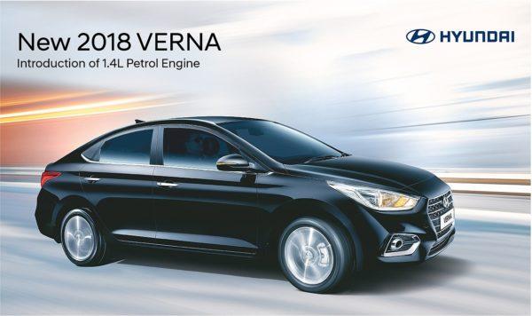new next gen Hyundai Verna 1.4 petrol