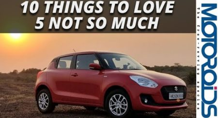 Video: New Maruti Swift: 10 Things We Love About it and 5 We don't