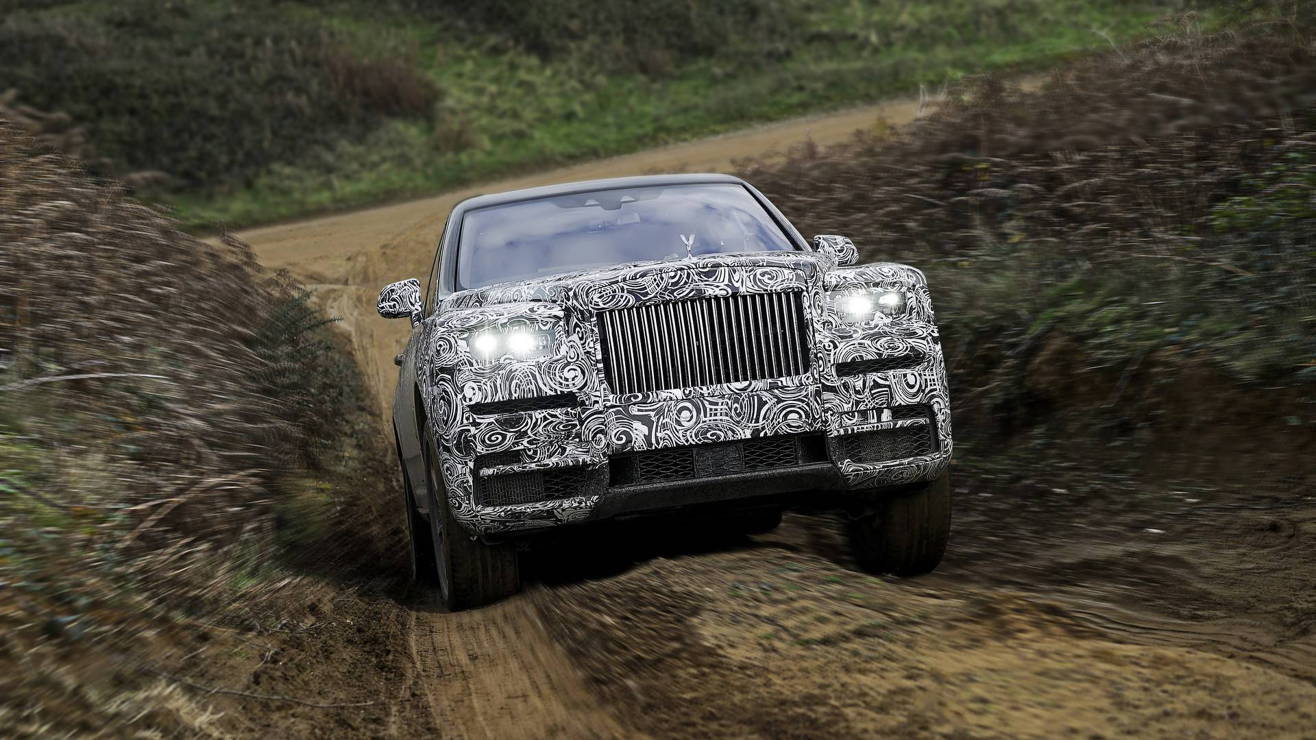 Rolls-Royce Cullinan name confirmed for new super SUV