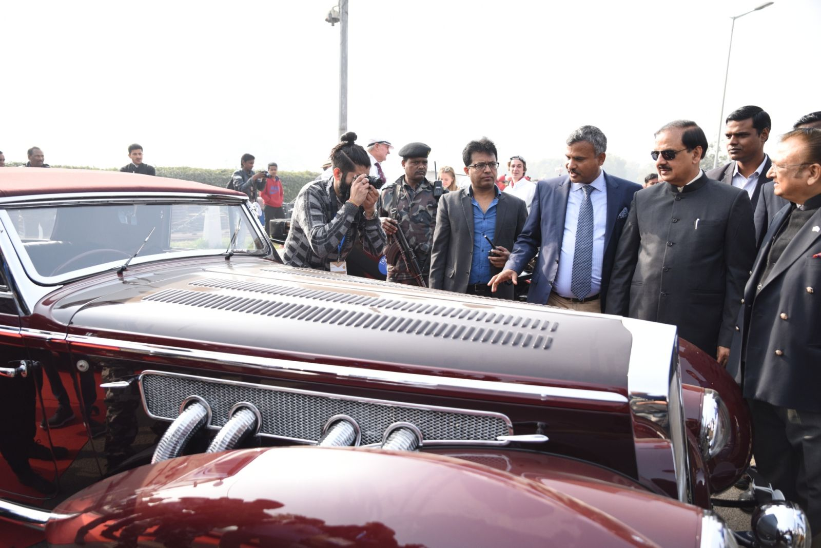 21 Gun Salute Vintage Rally Witnesses Participation Of 125